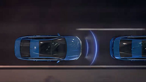 Available Adaptive Cruise Control with Stop & Go