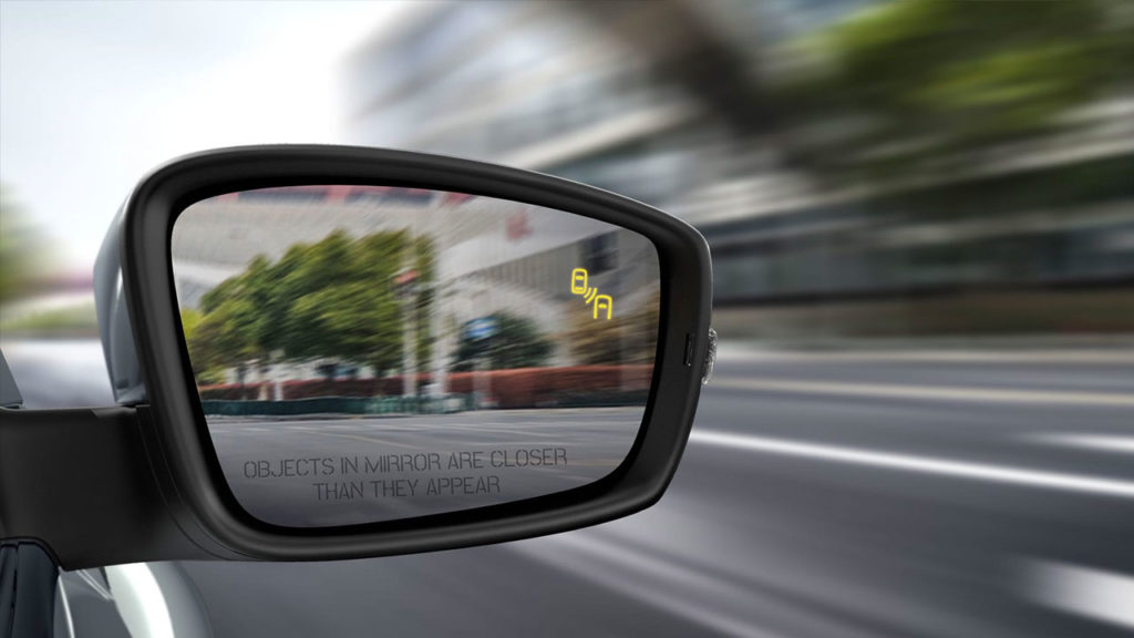 2019 VW Beetle side mirror -Blind Spot Detection with Rear Traffic Alert